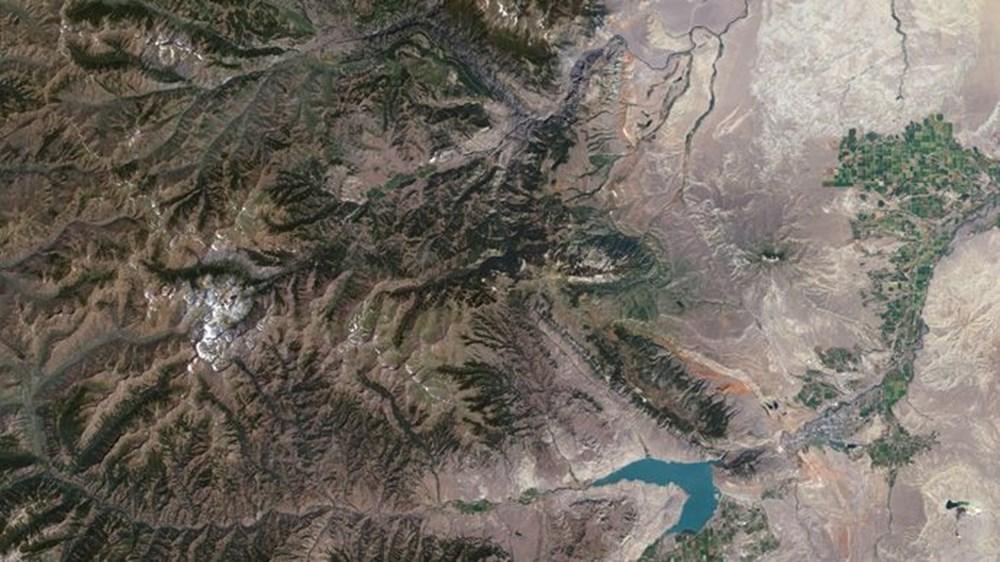 NASA Trump'ın 'büyük felaket' ilan ettiği yangınların uydu görüntülerini yayınladı - 35