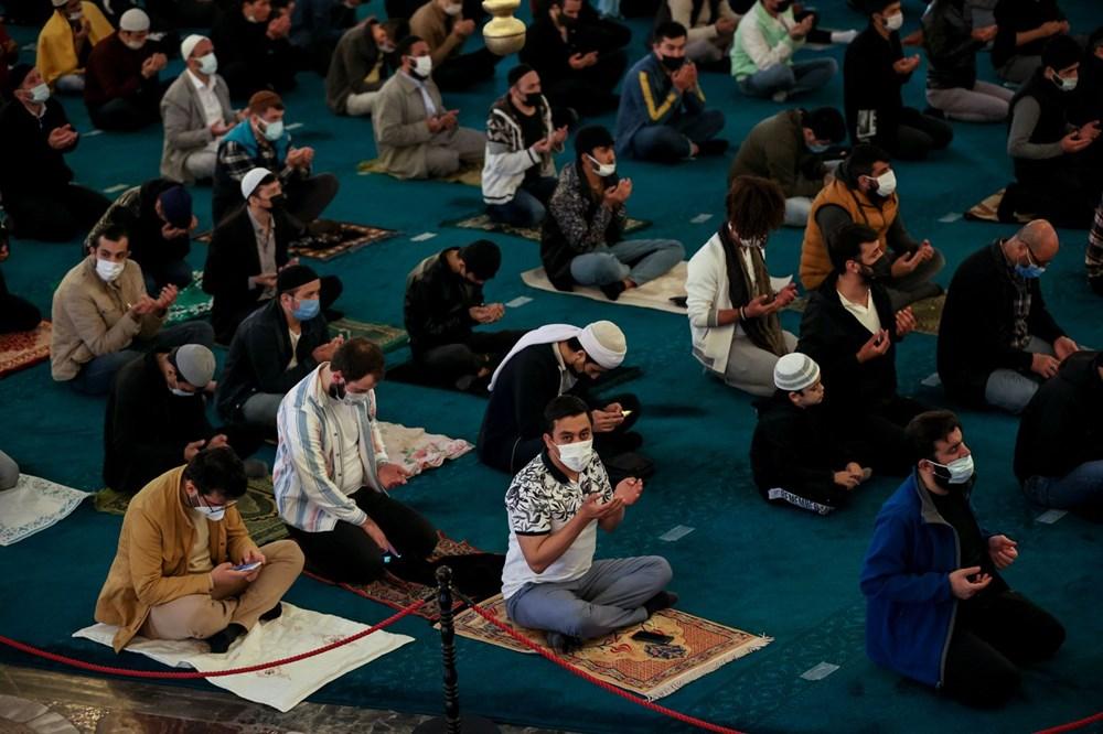 Ayasofya'da 87 yıl sonra ilk Ramazan Bayramı namazı kılındı - 13