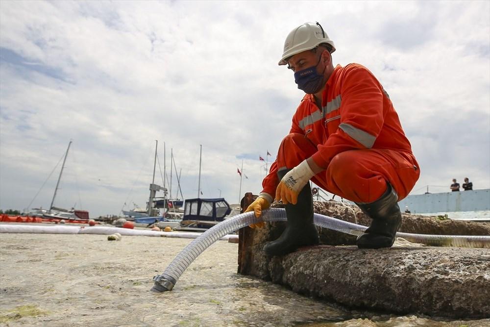 Marmara Denizi Eylem Planı: Müsilaj (Deniz salyası) temizliği başladı - 3