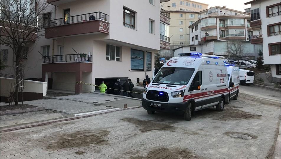 Ankara'dabir binanın garajında 3 gencin cesedi bulundu