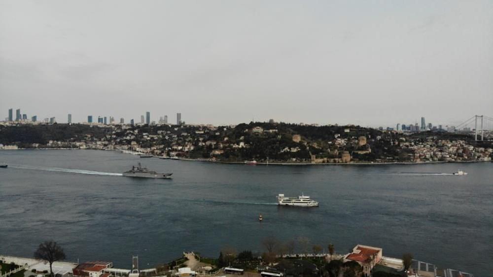 Rus savaş gemileri İstanbul Boğazı'ndan geçti - 4