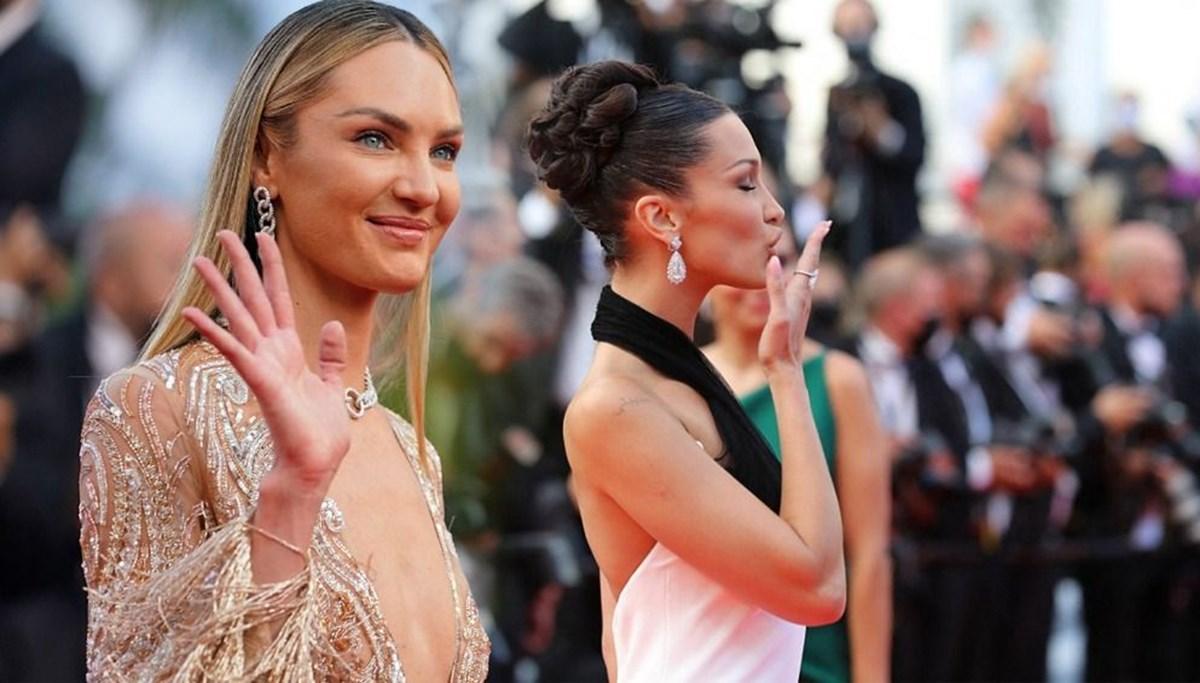 74. Cannes Film Festivali'nin kırmızı halısından öne çıkanlar