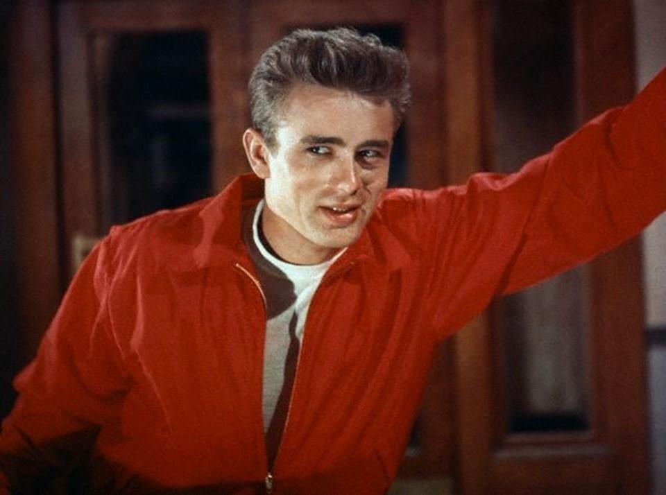 James Dean'in 1955 yapımı Asi Gençlik (Rebel Without a Cause) filminden bir fotoğraf