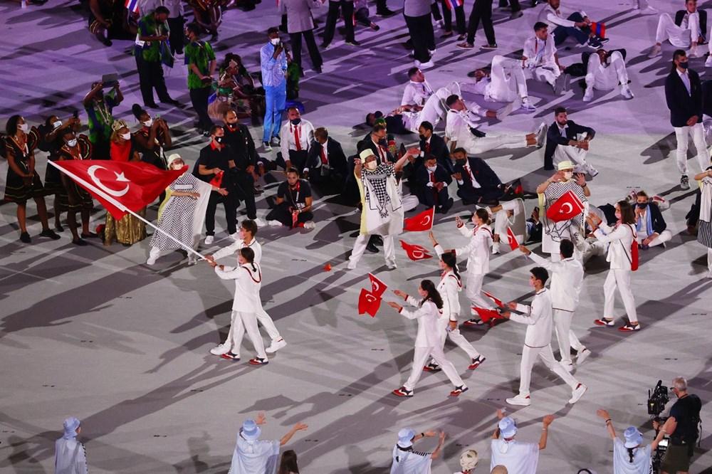 2020 Tokyo Olimpiyatları görkemli açılış töreniyle başladı - 14