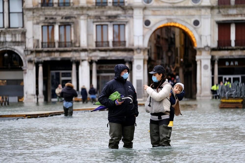 Venedik'te yine su baskını: Milyar dolarlık proje işe yaramadı - 7