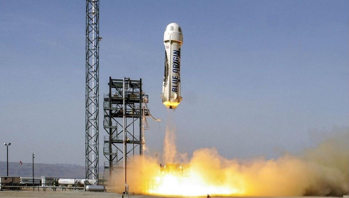 Blue Origin uzay için tarih verdi: 1 koltuk satışta