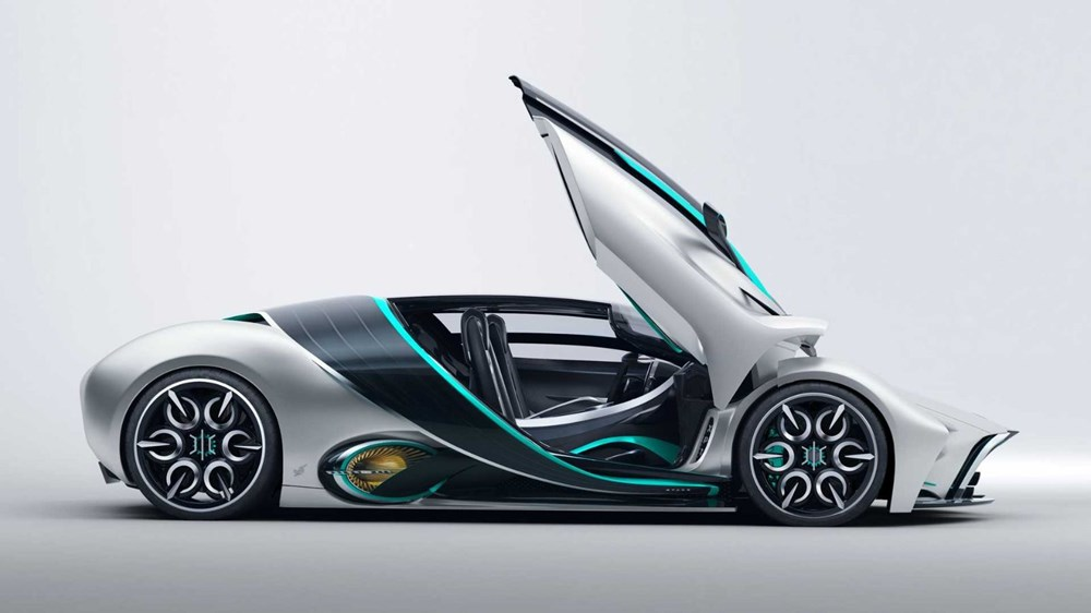 Hidrojen yakıtlı süper otomobil: Hyperion XP-1 - 6