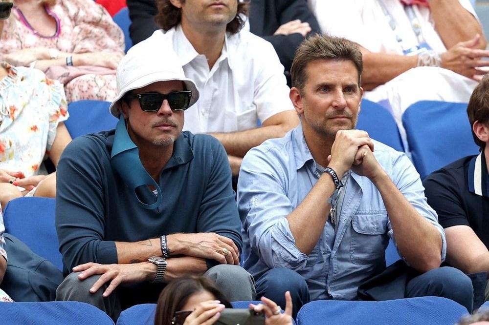 Brad Pitt ve Bradley Cooper tenis maçında - 6