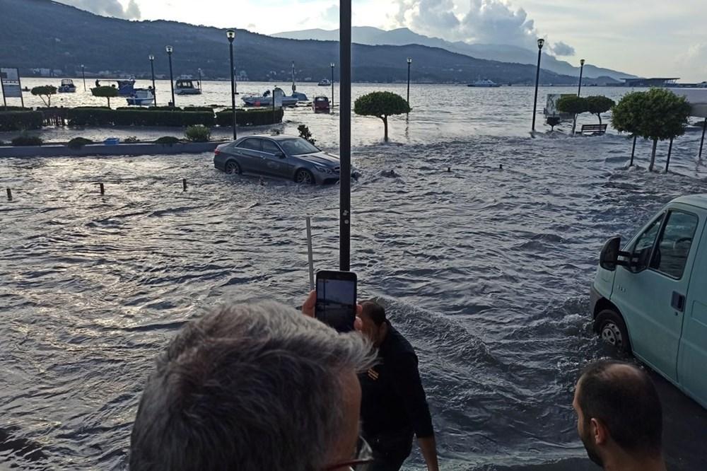 Depremin vurduğu Yunan adası Sisam'da son durum - 7