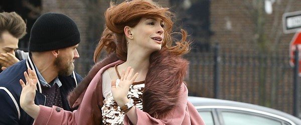 Anne Hathaway'dan Marilyn Monroe dansı