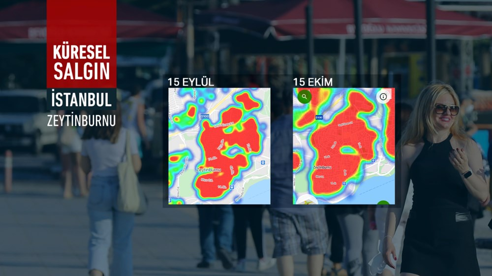İstanbul'da vakalar yine arttı: Harita kırmızıya büründü - 6