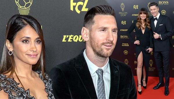 """Futbolun yıldızları ve eşleri kırmızı halıda (<span>Ballon d'Or)</span>)"""" /></p> <p>Barcelona'nın Arjantinli yıldızı Lionel Messi'nin yılın futbolcusuna verilen Altın Top (Ballon d'Or) ödülünü kazandığı geceye futbol dünyasının yıldızları eşleri veya sevgilileriyle katılarak kırmızı halıda boy gösterdi.(Fotoğraflar: Getty Images Turkey)</p> </div></section></main>  </div> <footer id="""
