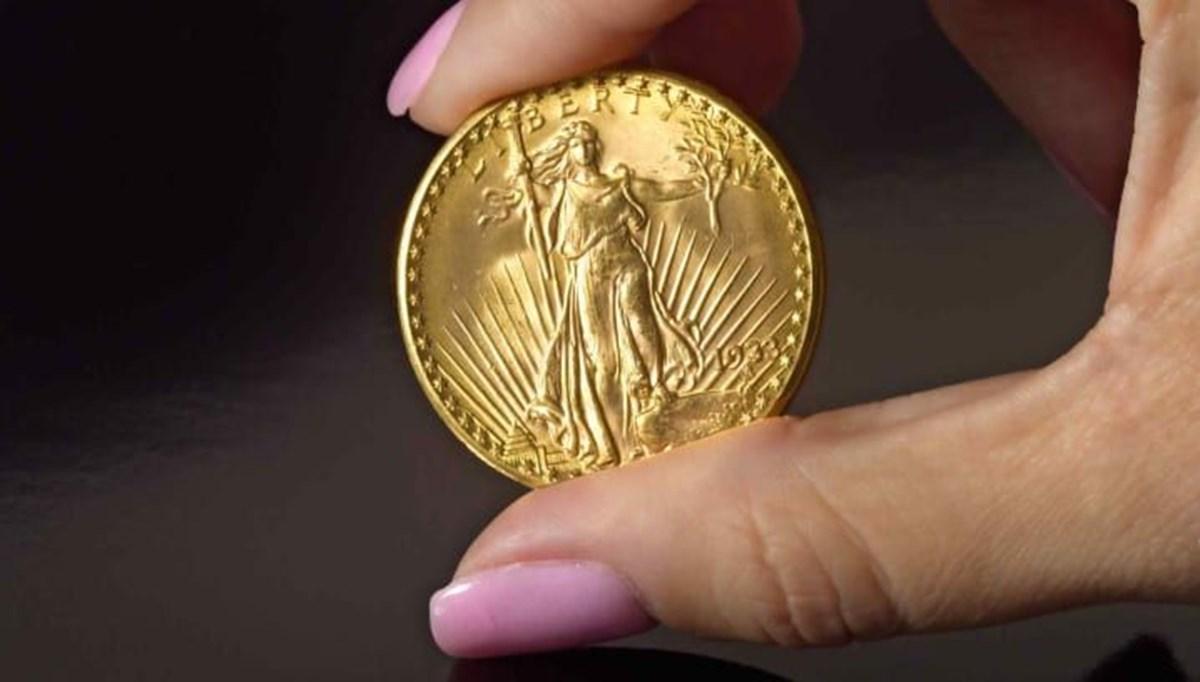 ABD'de tedavüle çıkan son altın para