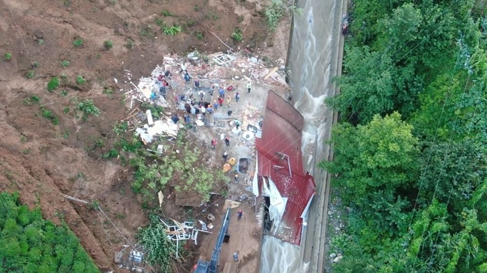 Rize'de sel ve heyelan: 1 kişi hayatını kaybetti, 3 kişiden haber alınamıyor - 8