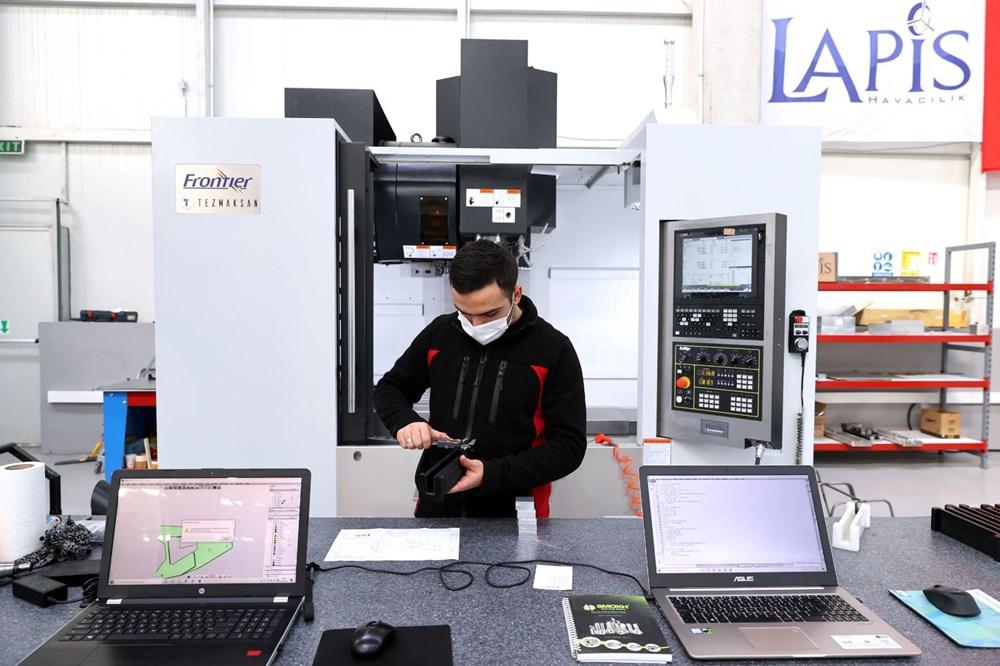 Türkiye'nin yeni İHA fabrikası üretime başladı - 3