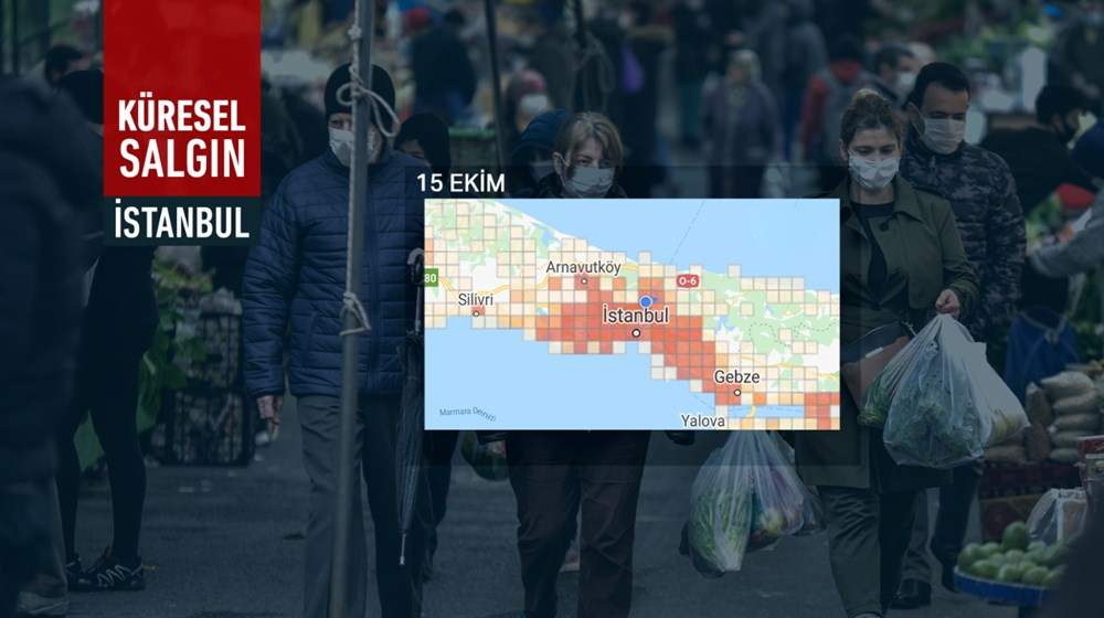 İstanbul'da vakalar yine arttı: Harita kırmızıya büründü - 7