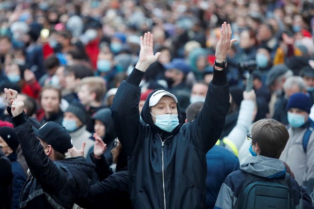 Rusya'da Navalny protestoları: Bin 700'den fazla kişi gözaltına alındı - 7
