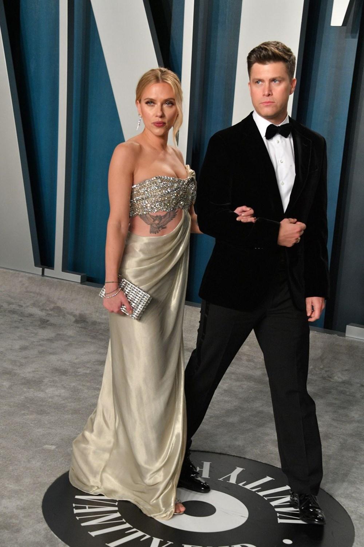 Scarlett Johansson ile komedyen Colin Jost evlendi - 3