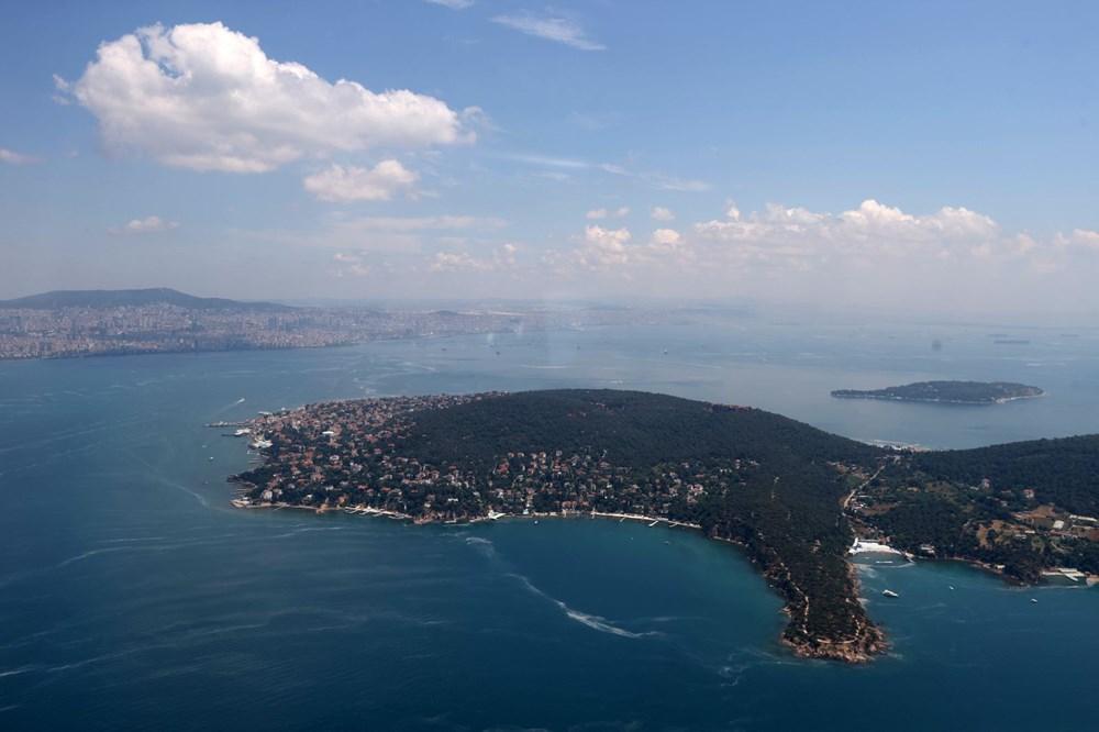 Müsilaj havadan görüntülendi: Deniz salyası her yerde - 8