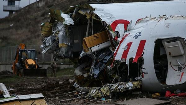 Uçak kazası soruşturmasında kabin görevlileri ile yardımcı pilotun ifadeleri alındı