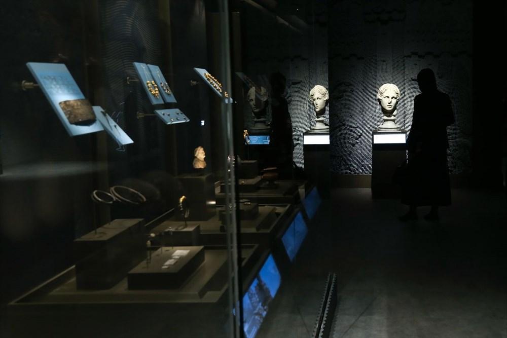 İstanbul Havalimanı Müzesi 'Türkiye'nin Hazineleri-Tahtın Yüzleri' sergisiyle açıldı - 5