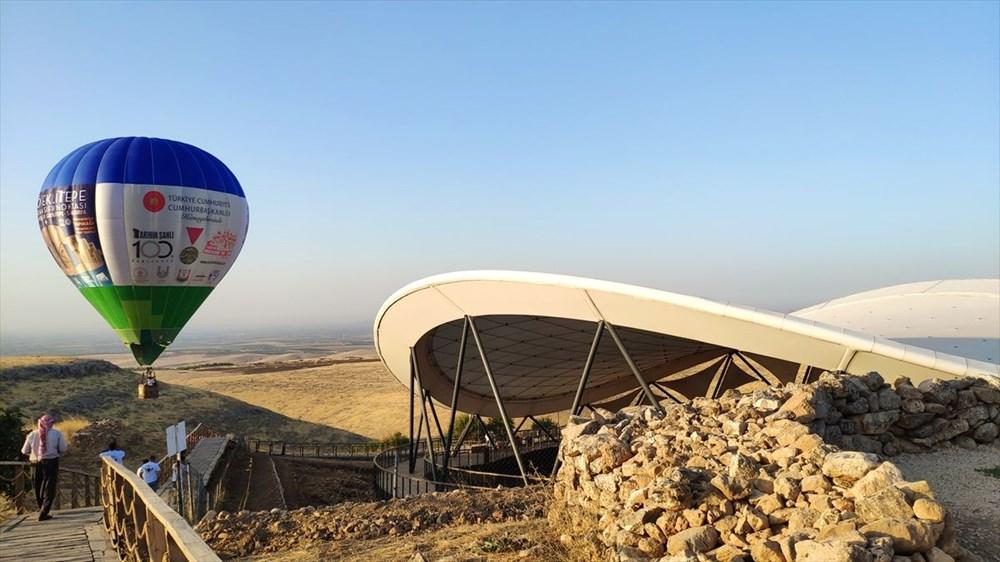 'Tarihin sıfır noktası' Göbeklitepe balonla havadan da gezilebilecek - 6