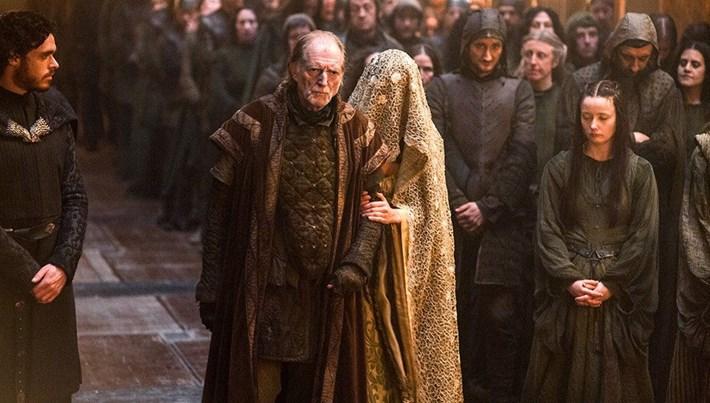 Game of Thrones'un Walder Frey'i David Bradley: Sahneyi 70 kez tekrarladık