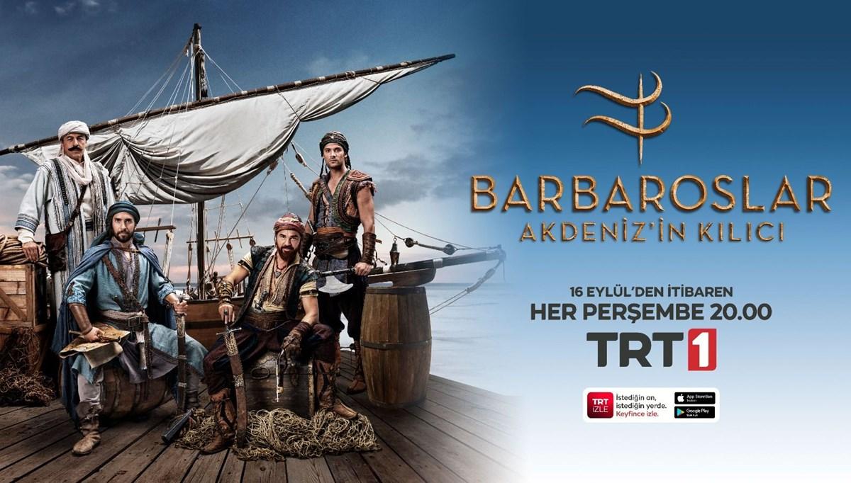 Barbaroslar Akdeniz'in Kılıcı dizisi bu akşam başlıyor