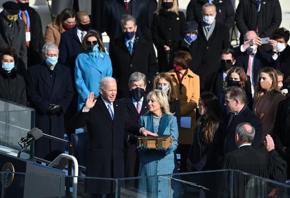 Joe Biden'ın yemin töreninden kareler (ABD'nin 46. Başkan Joe Biden göreve başladı) - 2