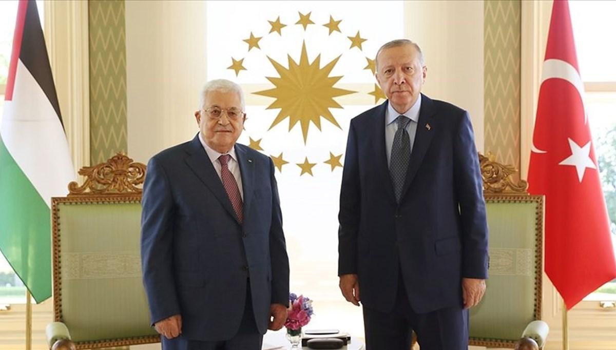 President Erdoğan met with Palestinian President Abbas