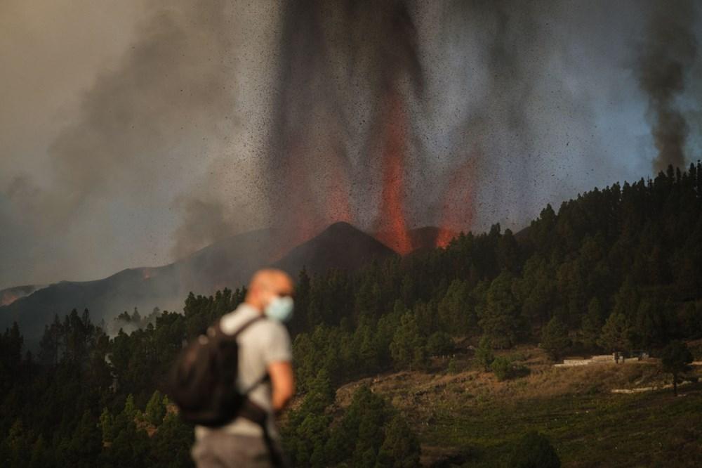 Kanarya Adaları'ndaki Cumbre Vieja yanardağı faaliyete geçti: 5 bin kişi tahliye ediliyor - 10