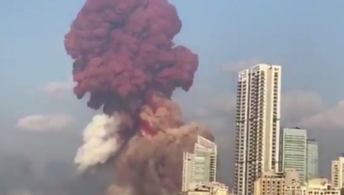 SON DAKİKA HABERİ: Beyrut'ta çok şiddetli patlama