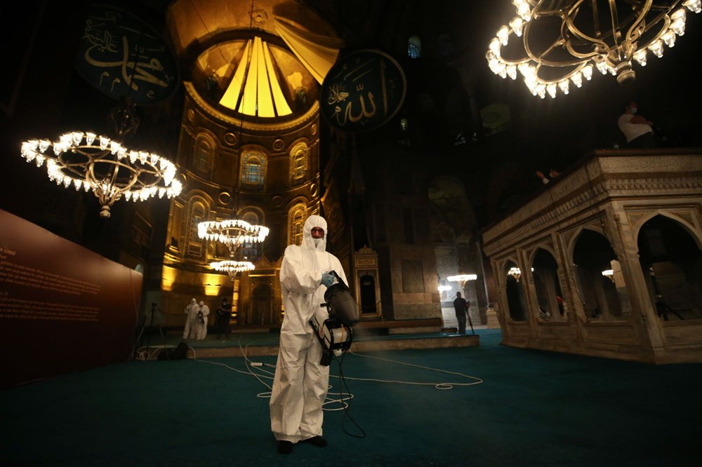 The crowd does not decrease in Hagia Sophia - 4