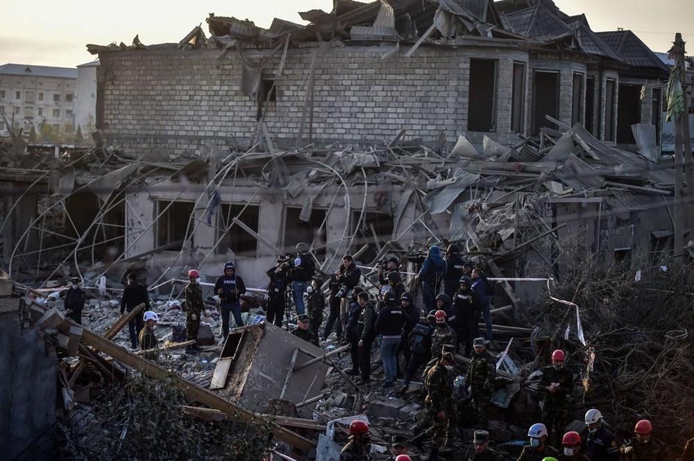 Ermenistan'ın Gence'ye füze saldırısının şiddeti gün ağarınca ortaya çıktı - 24