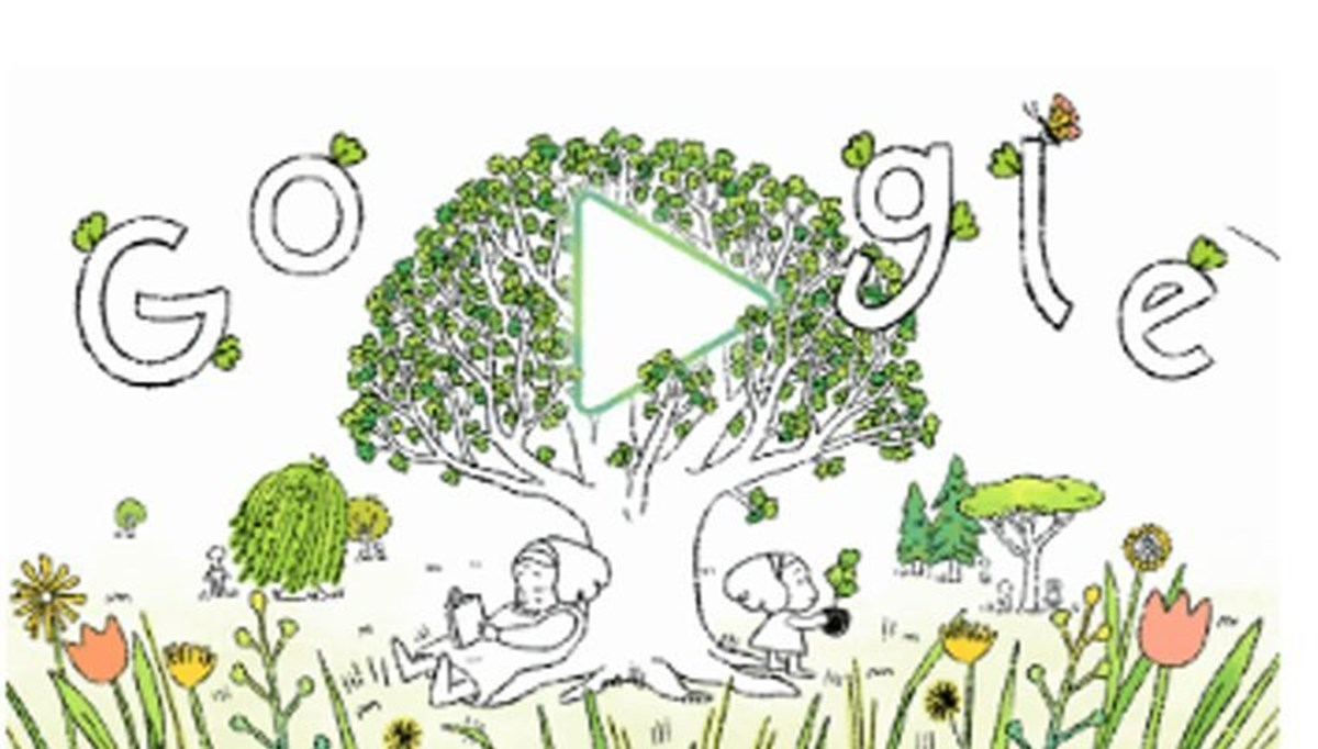 Google prepared a special Doodle for Earth Day