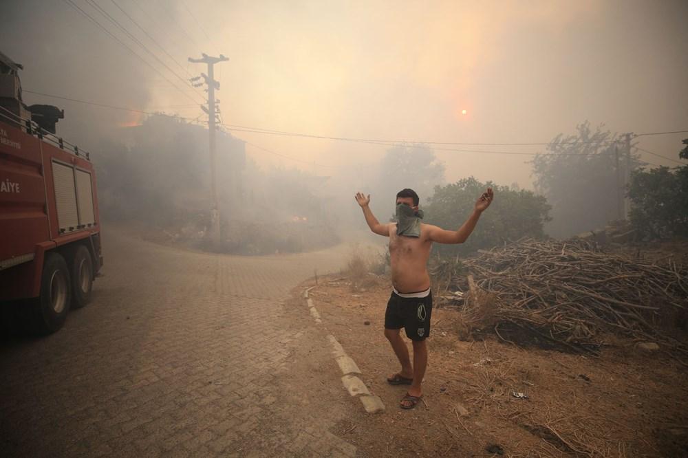 Antalya, Adana, Mersin, Aydın, Muğla, Osmaniye, Kayseri ve Manisa'da orman yangınları - 10