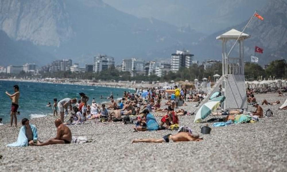 Tam kapanma bitti: Antalyalılar sahile akın etti - 7