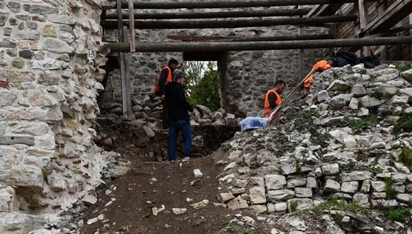 Tarihi Ceneviz kalesine restorasyon