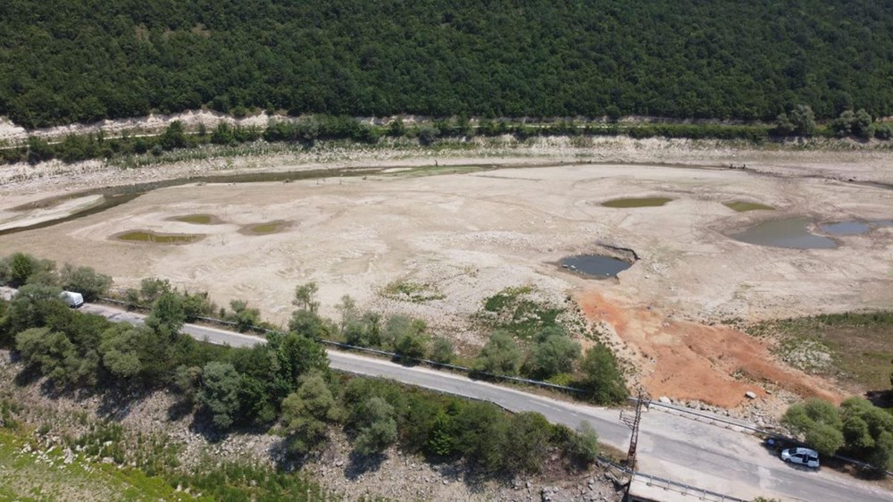 İstanbul'un su ihtiyacını karşılayan Trakya'daki barajlar kurudu - 2