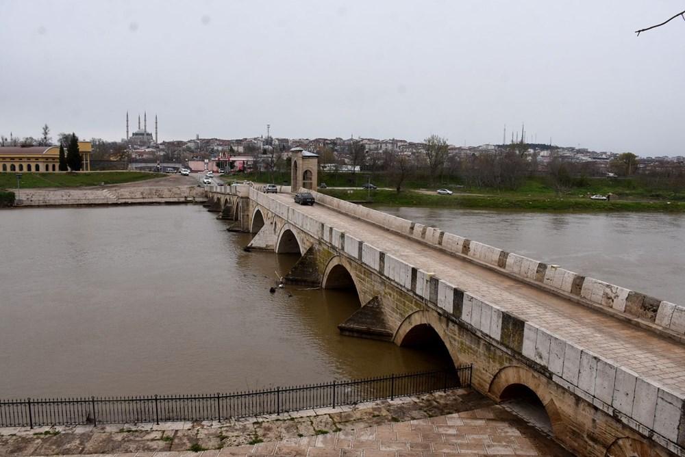 Tunca Nehri bir haftada 4 kat arttı: Sarı alarm verildi - 9