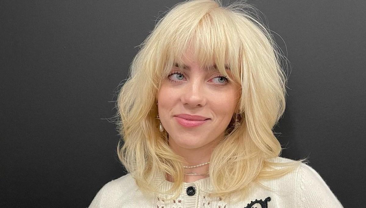 Billie Eilish sarı saçlarının ilham kaynadığını açıkladı