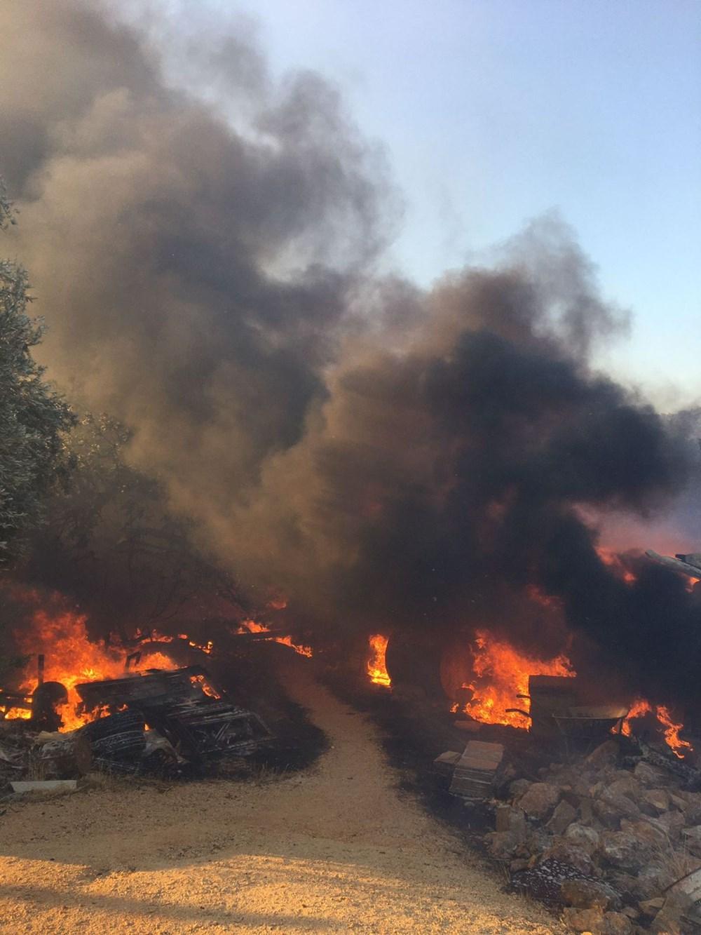 Antalya, Adana, Mersin ve Osmaniye'de orman yangınları - 14