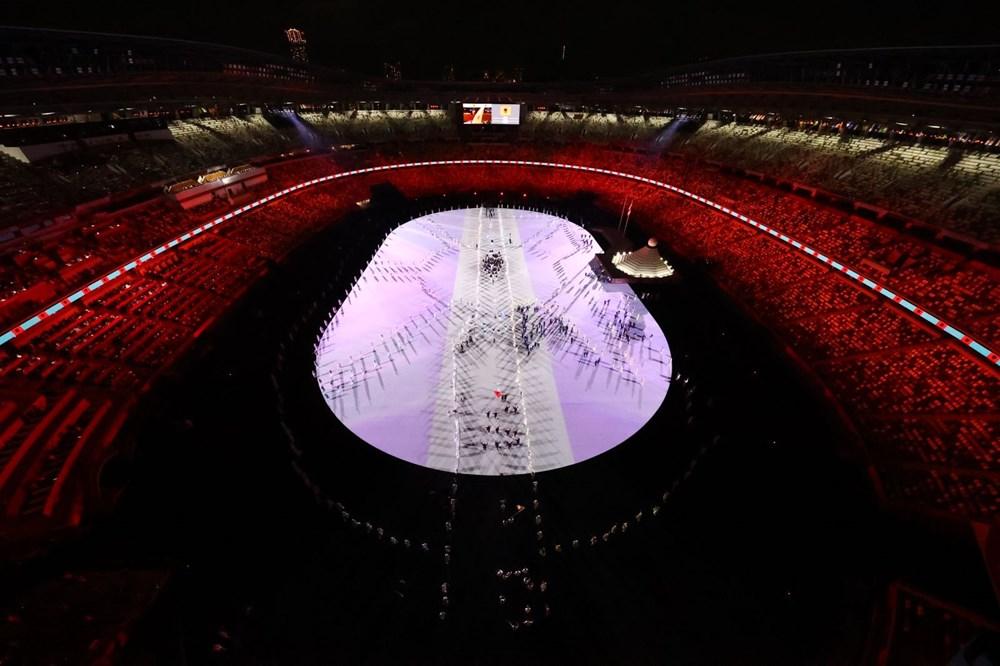 2020 Tokyo Olimpiyatları görkemli açılış töreniyle başladı - 72