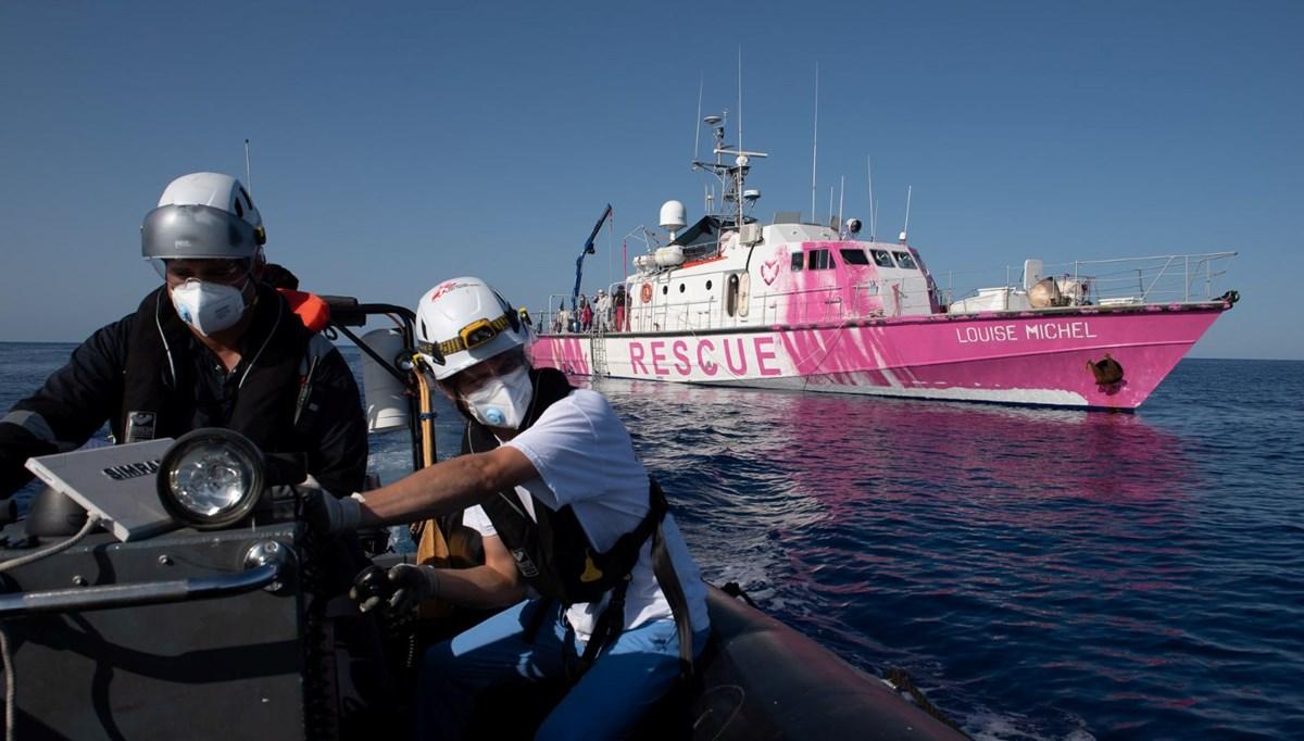 İtalya'dan Banksy'nin gemisindeki sığınmacılara yardım eli
