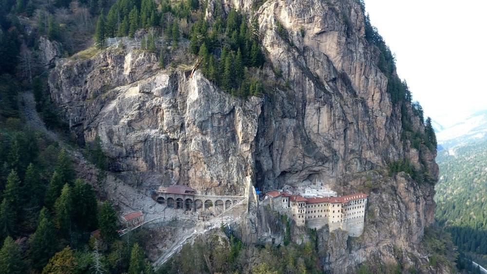 Sümela Manastırı 5 yıl sonra ziyarete açıldı - 2