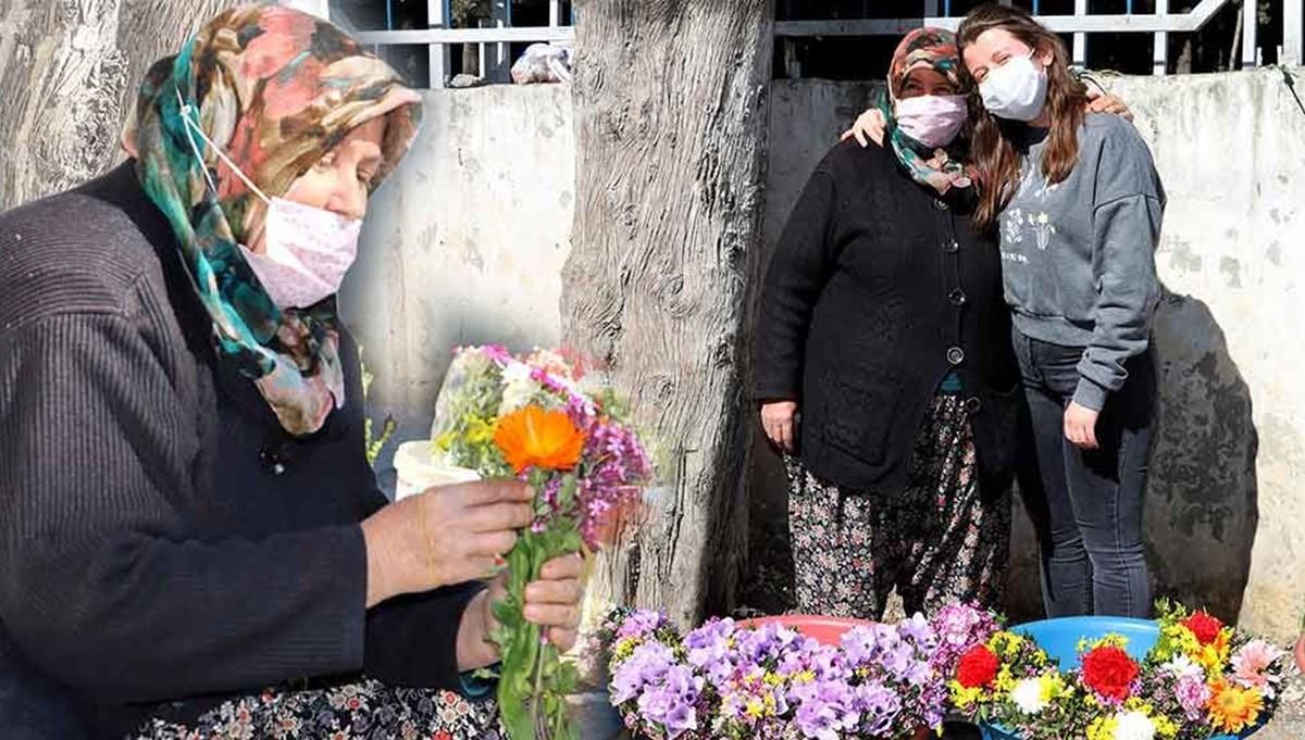 Çiçekçi annenin Oxford'lu kızı (Mezarlık önünde 15 yıl)