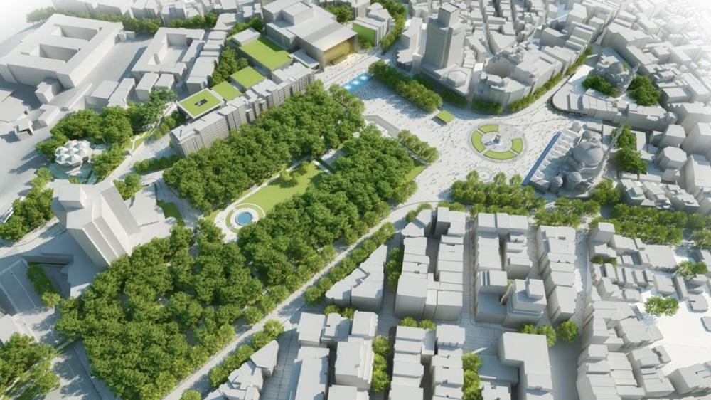Taksim Meydanı Tasarım Yarışması sonuçlandı (Taksim Meydanı böyle olacak) - 34