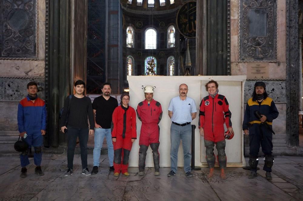 Ayasofya'nın yeraltı yapıları üç boyutlu olarak ilk defa görüntülendi - 3