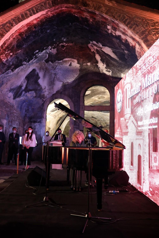 Trabzon'da restorasyonu tamamlanan Kızlar Manastırı ziyarete açıldı - 21