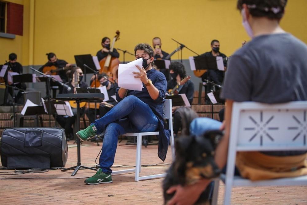 Bogota Filarmoni Orkestrası hayvanların korunması için konser verdi - 6